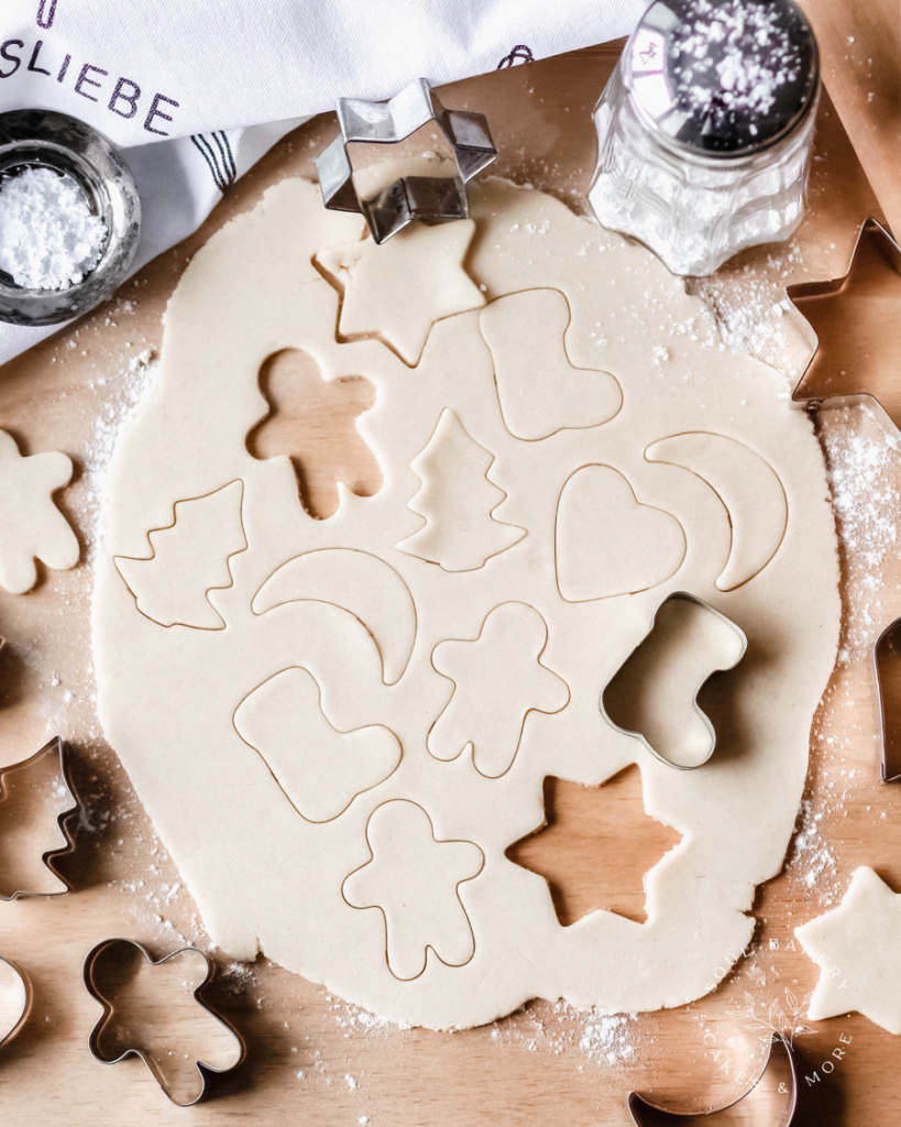 Keksliebe, Keksteig,Butterkekse, Weihnachtsbäckerei, Plätzchenteig für Kinder, Keksteig zum Ausstechen, Keksteig für Kinder, Plätzchenteig zum Ausstechen