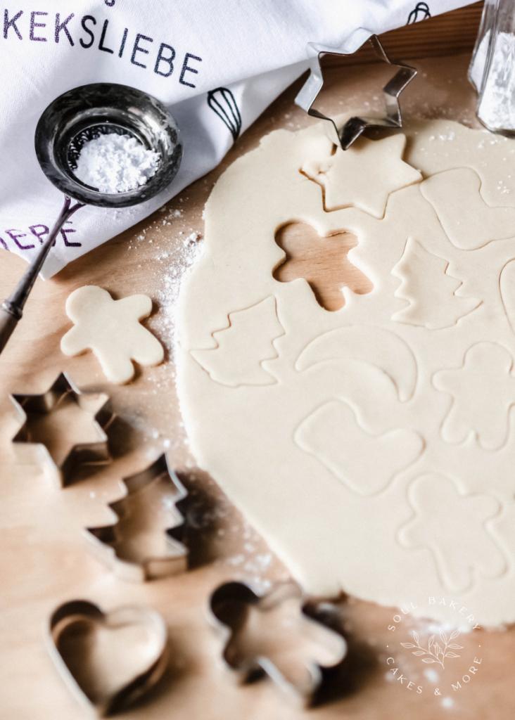 Keksliebe, Butterkekse, Weihnachtsbäckerei, Plätzchenteig für Kinder, Keksteig zum Ausstechen, Keksteig für Kinder, Plätzchenteig zum Ausstechen