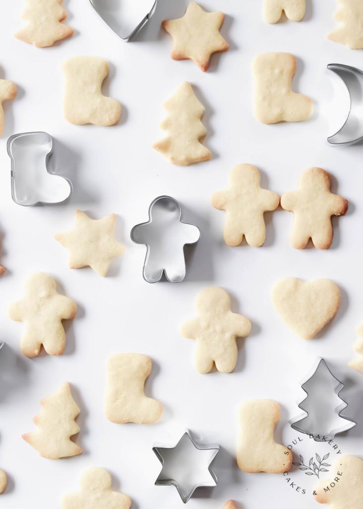 Keksliebe, Butterplätzchen, Butterkekse, Weihnachtsbäckerei, Plätzchenteig für Kinder, Keksteig zum Ausstechen, Keksteig für Kinder, Plätzchenteig zum Ausstechen