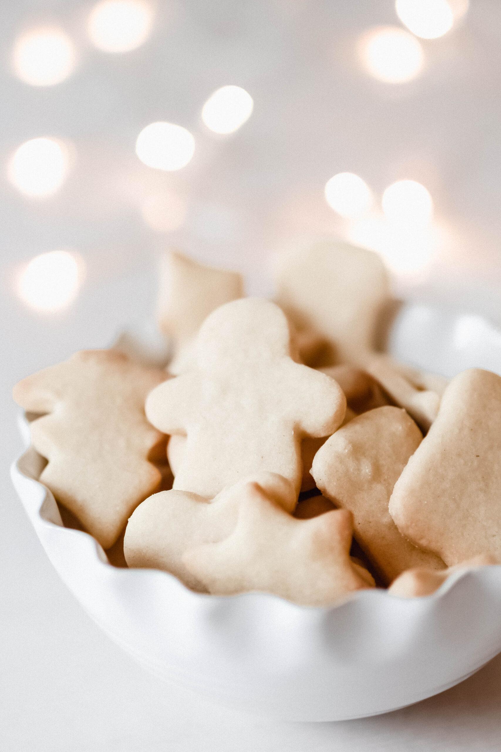 Weihnachtsbäckerei: Grundrezept für Butterplätzchen