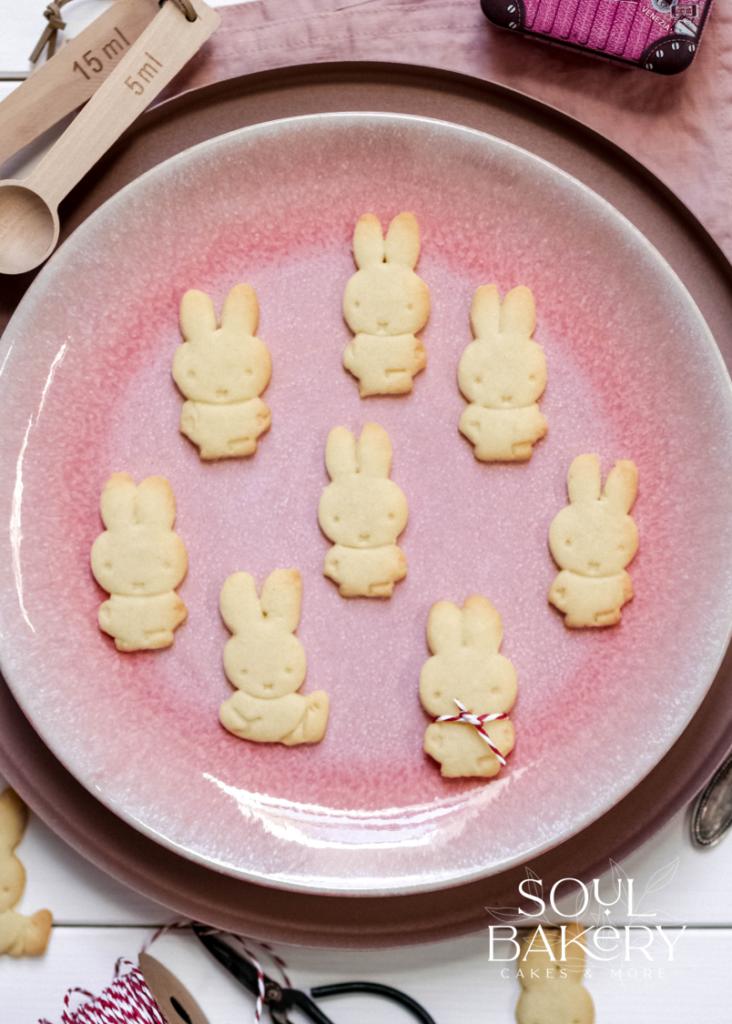 Miffy Kekse, Miffy, Miffy Cookies, Butterkekse, Butterkekse Rezept, Miffy cookies recipe, Ausstechkekse, Ausstechkekse Rezept, Kekse, butter cookies