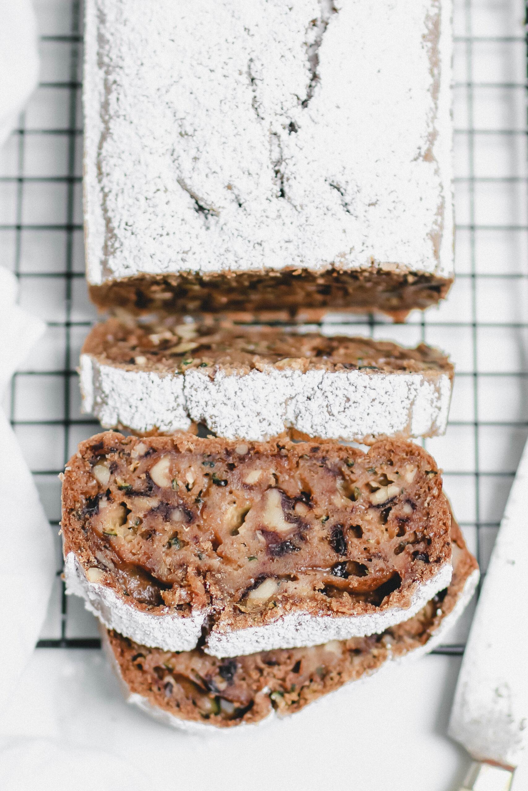 supersaftiger Zucchini-Walnuss-Kuchen