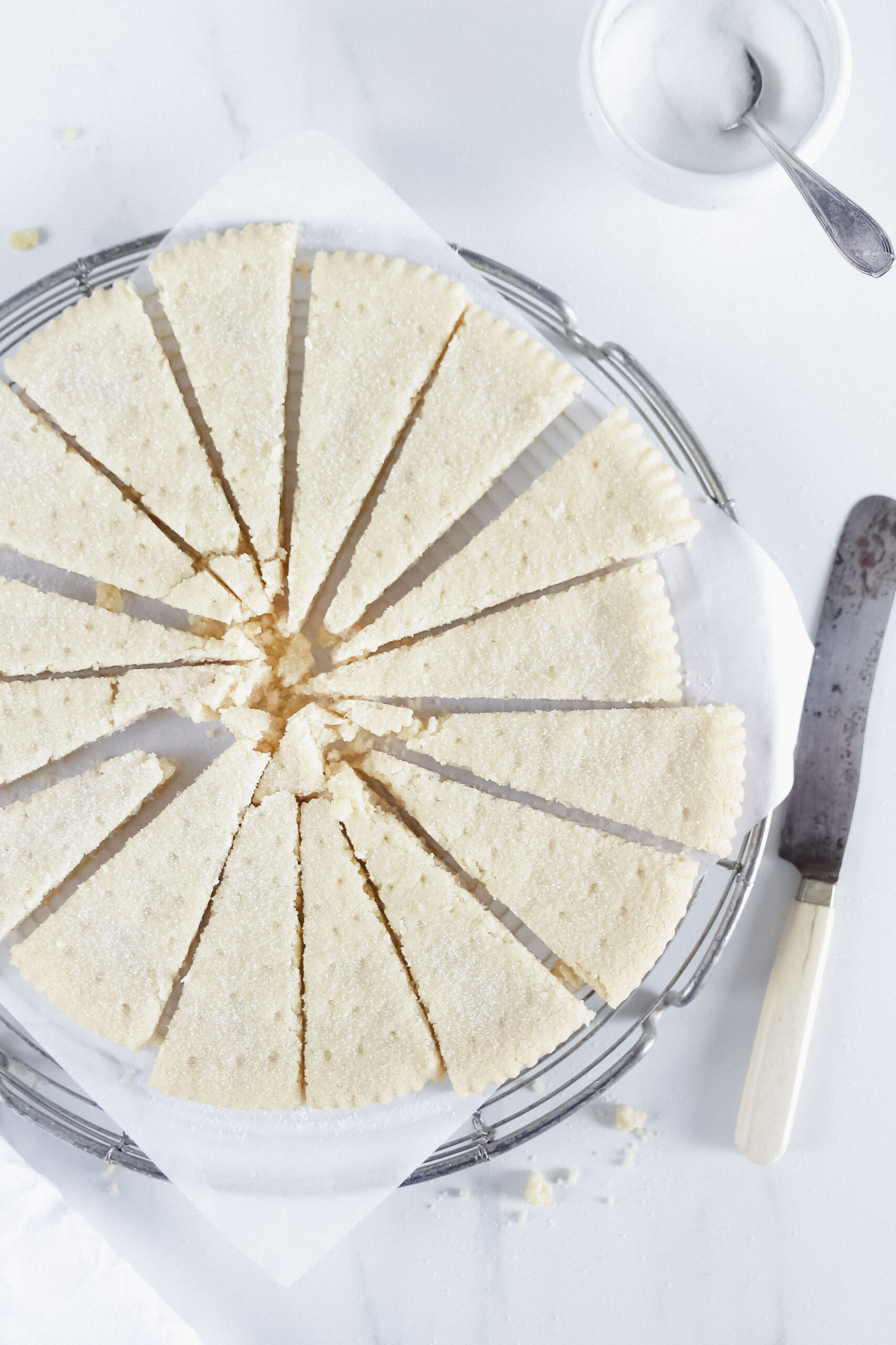 Scottish Shortbread Cookies Rezept – mürbe & buttrig